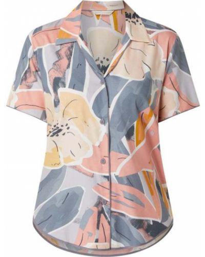 Fioletowa piżama bawełniana krótki rękaw Cyberjammies