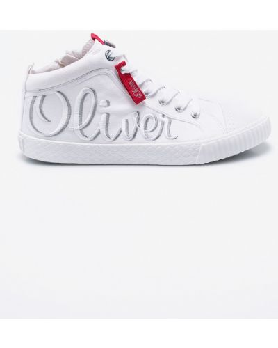 Кеды на шнуровке текстильные S.oliver