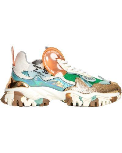 Białe sneakersy Cljd