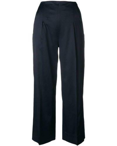 Укороченные брюки - синие Chalayan