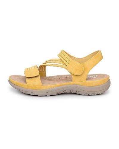 Желтые сандалии Rieker