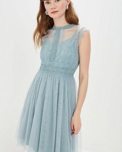 2ea34e62875 Вечернее платье весеннее голубой Little Mistress