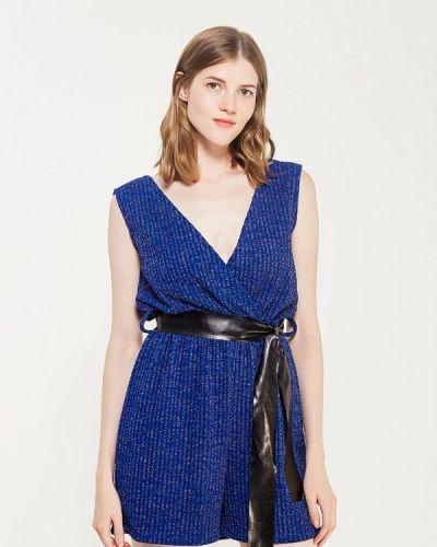 Синий комбинезон с шортами Perfect J