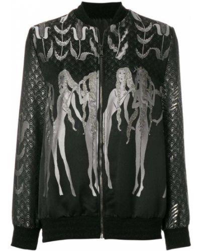 Черная куртка Giamba