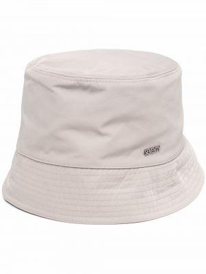Белая хлопковая шапка Seventy