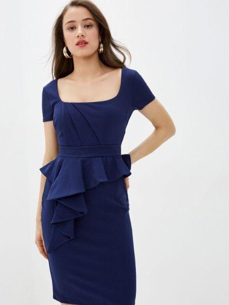 Платье - синее City Goddess