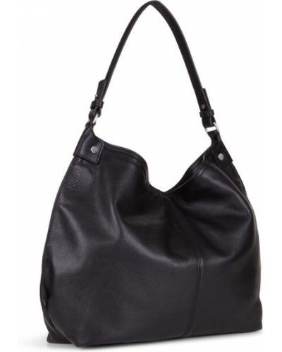 Кожаная сумка сумка-мешок на плечо Ecco