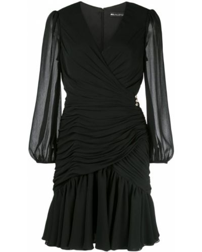 Платье макси с V-образным вырезом с длинными рукавами Jill Jill Stuart