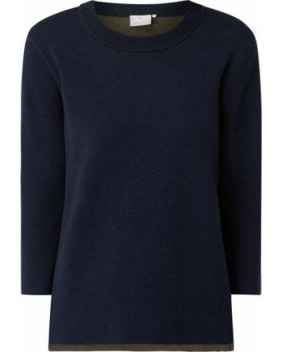 Niebieski sweter bawełniany Kaffe