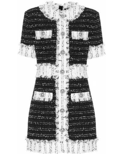 Платье мини деловое винтажная Balmain