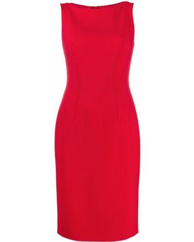 Приталенное платье на молнии круглое с вырезом Paule Ka