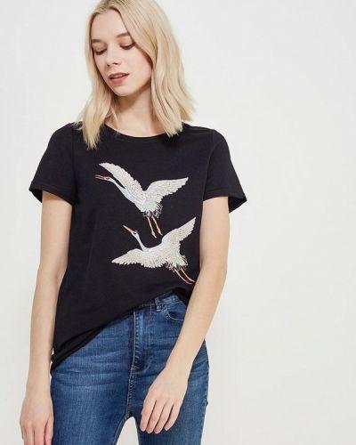 Черная футболка Vero Moda