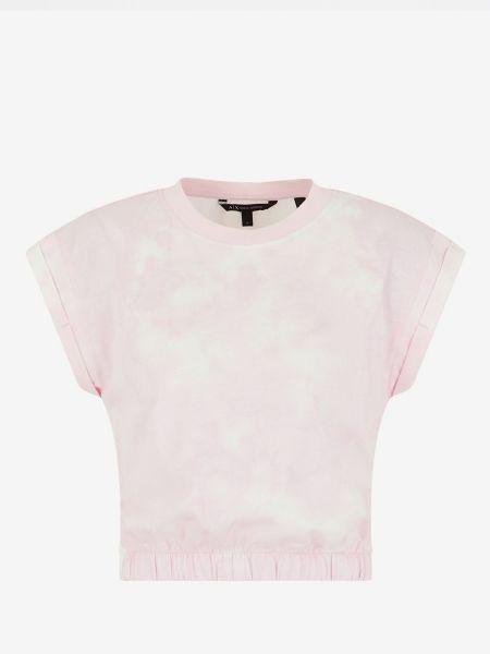 Повседневная футболка - фиолетовая Armani Exchange