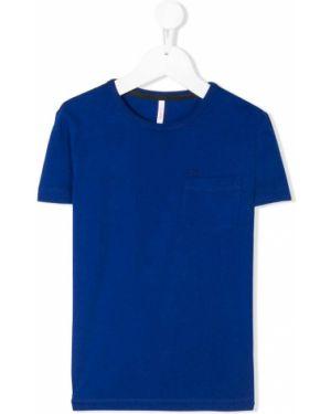 Синяя рубашка Sun 68