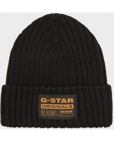 Шапка бини - черная G-star Raw