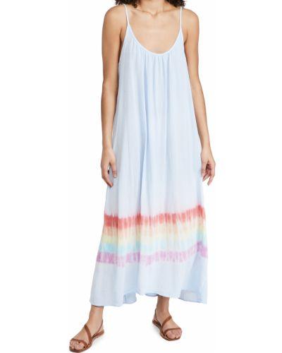 Ватное хлопковое платье стрейч 9seed
