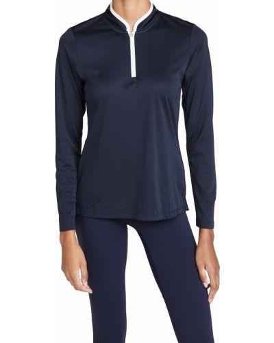 Облегченный трикотажный пуловер с длинными рукавами Tory Sport