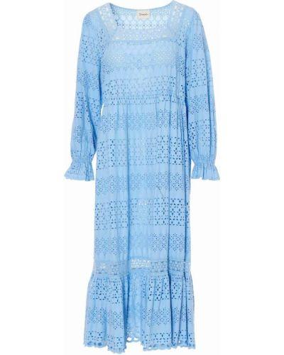Niebieska sukienka Dixie