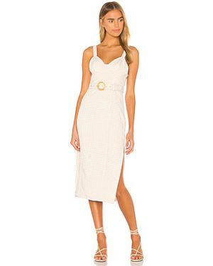 Платье миди с поясом на молнии Song Of Style