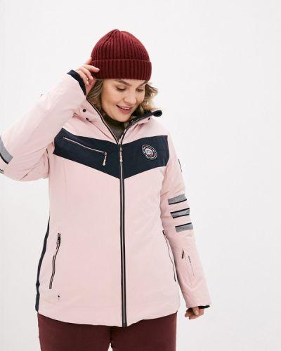 Розовая куртка горнолыжная High Experience