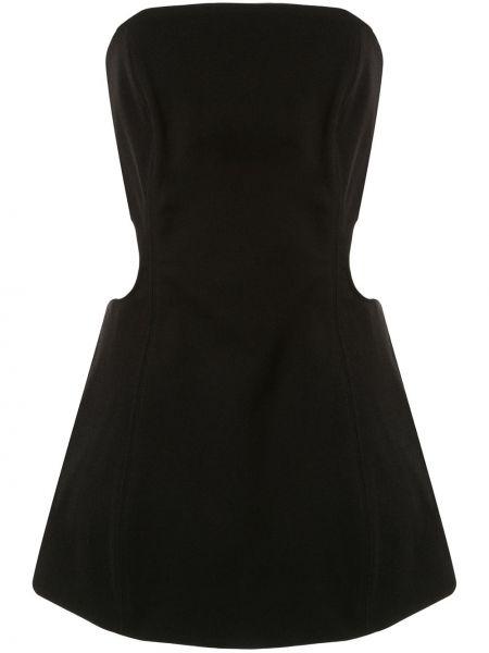 Платье на молнии черное Georgia Alice