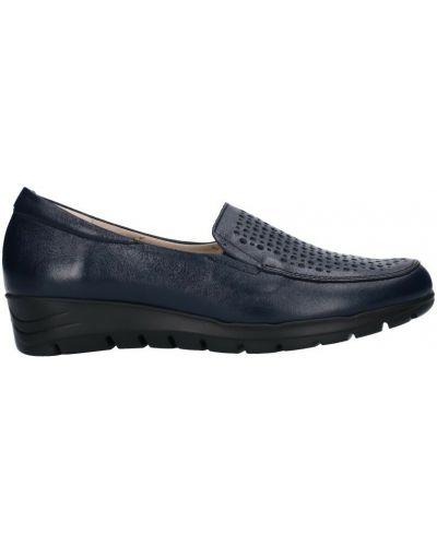 Loafers - niebieskie Pitillos