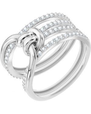 Кольцо с кристаллами сваровски Swarovski
