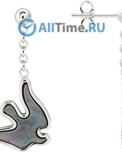 Серебряные серьги Nina Ricci