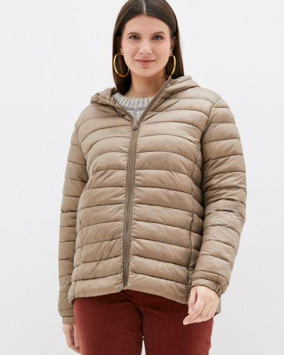 Утепленная куртка - бежевая Rosa Thea