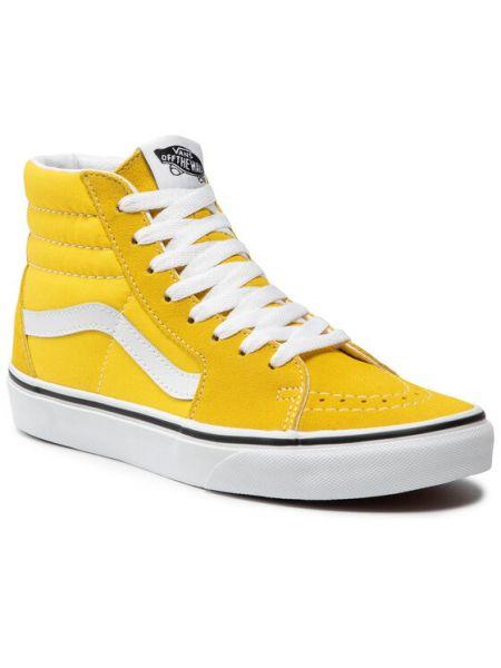 Żółte sneakersy Vans