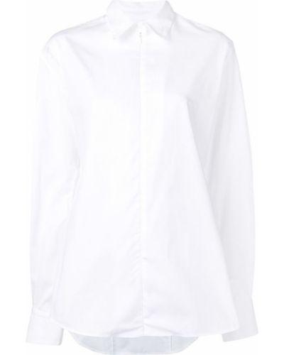 Классическая рубашка белая оверсайз Aalto