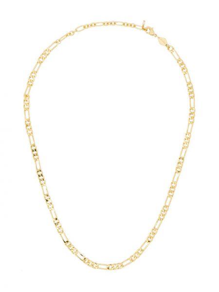 Золотистая желтая цепочка с жемчугом Anni Lu