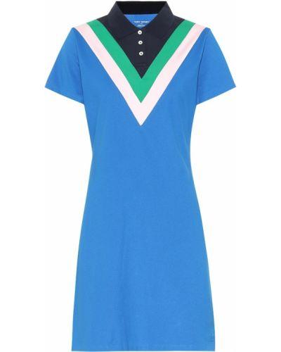 Платье рубашка - синее Tory Sport