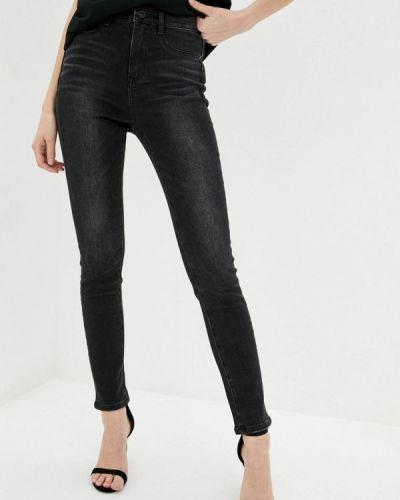 Серые джинсы-скинни узкого кроя Miss Sixty