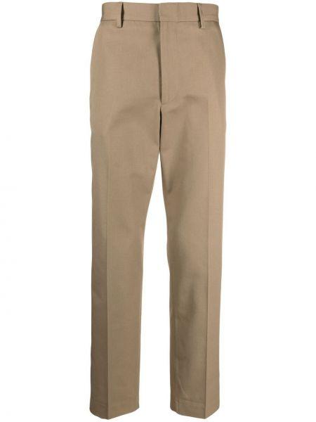 Spodnie bawełniane z paskiem Acne Studios