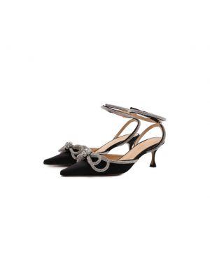 Черные текстильные туфли Mach & Mach
