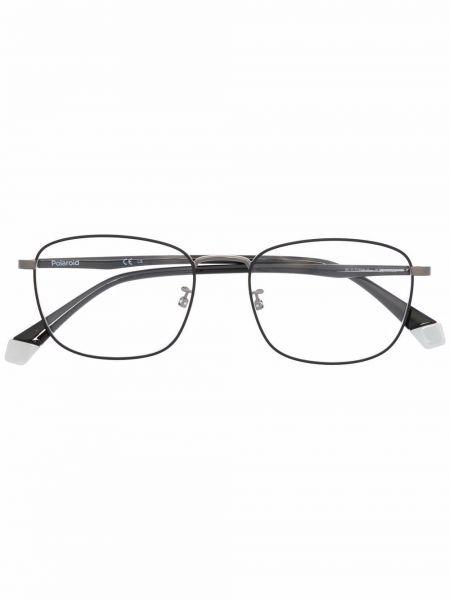 Okulary srebrne - czarne Polaroid