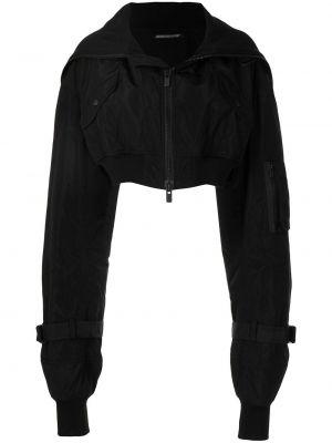 Куртка удлиненная - черная Yohji Yamamoto