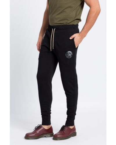 Спортивные брюки на резинке с карманами Diesel
