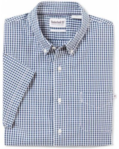 Рубашка с коротким рукавом - синяя Timberland