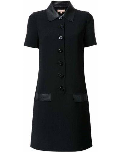 Платье платье-рубашка шерстяное Michael Kors Collection