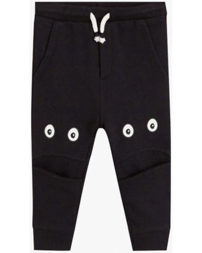 Черные брюки спортивные Mango Kids