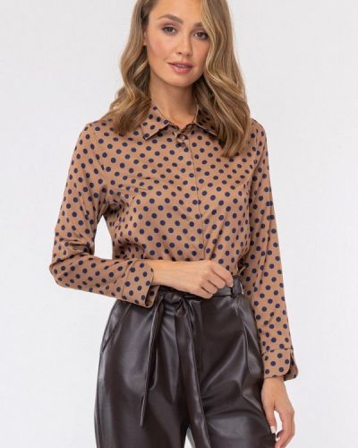 Блузка - коричневая Vladi Collection