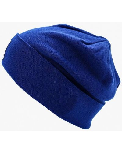 Синяя шапка осенняя Reebok