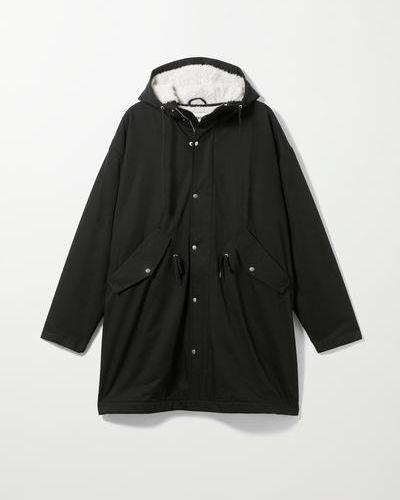 Черная легкая куртка Weekday