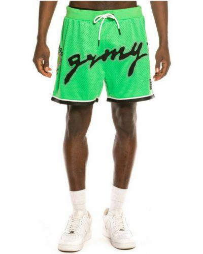 Zielone szorty Grimey