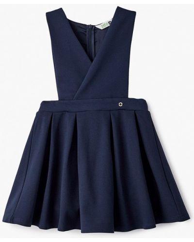 Повседневное синее платье Sela