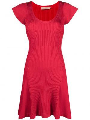 Платье мини короткое - красное Twin-set