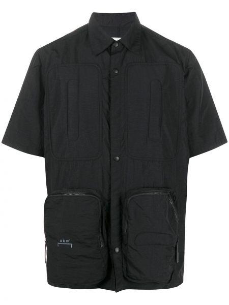 Koszula krótkie z krótkim rękawem klasyczna wojskowy A-cold-wall*