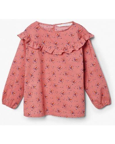 Розовая блуза 2018 Mango Kids